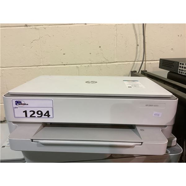 HP ENVY 6055 PRINTER OUT OF BOX (NO POWER CORD)