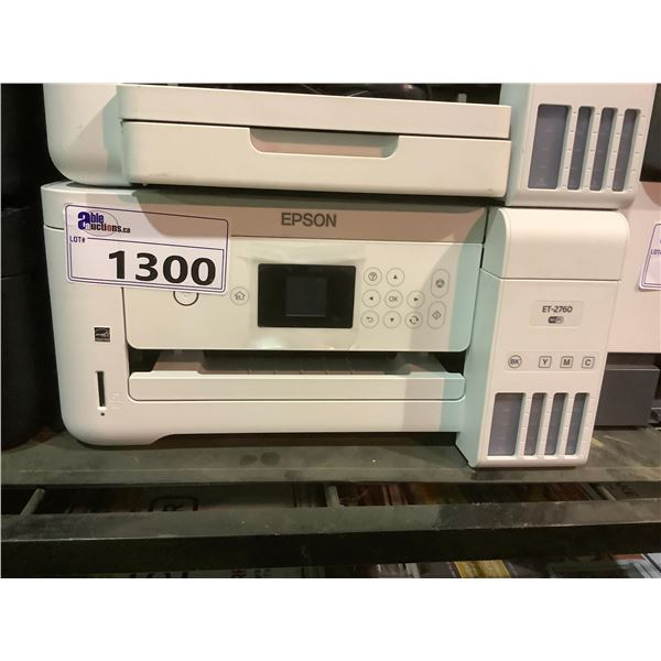 EPSON ET-2760 PRINTER OUT OF BOX (NO POWER CORD)