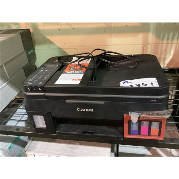 CANON IMAGECLASS MF267DW PRINTER OUT OF BOX NO POWER CORD