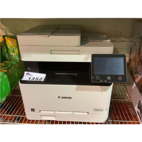 CANON IMAGECLASS MF642CDW PRINTER OUT OF BOX WITH POWER CORD