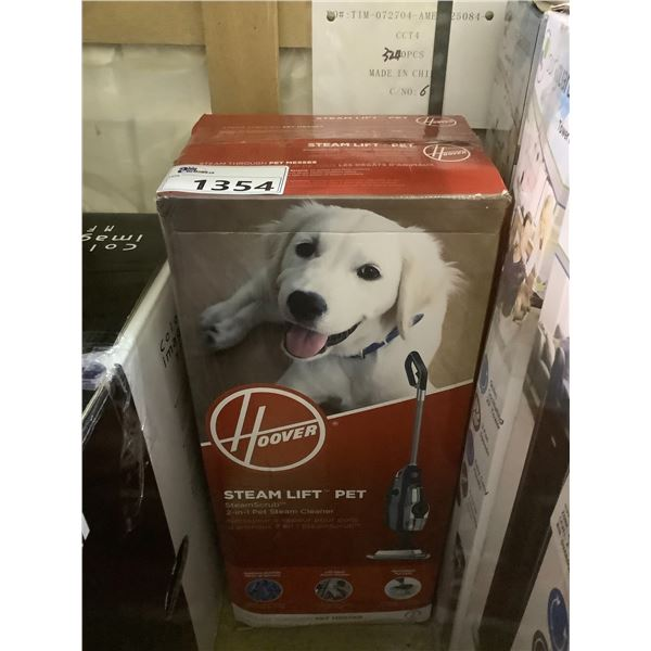 HOOVER STEAM LIFT PET STEAM CLEANER