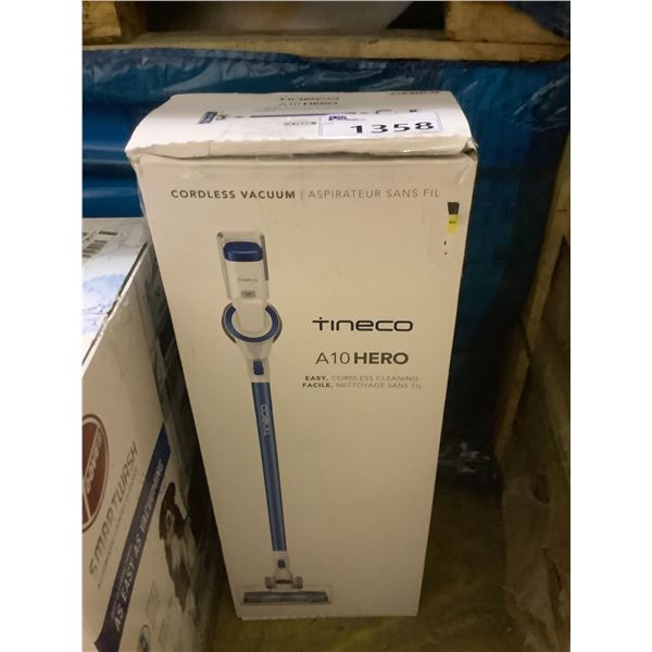 TINECO A10 HERO VACUUM (TESTED WORKING)