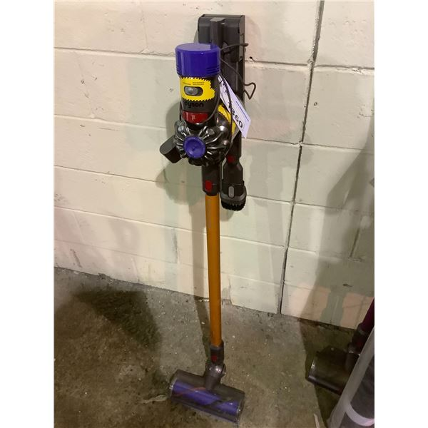 DYSON STICK VAC WITH ACCESSORIES AND CHARGER MODEL #UNKNOWN (TESTED WORKING)