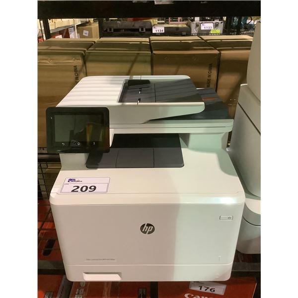 HP COLOR LASER JET PRO MFP M479FDW PRINTER NO POWER CORD