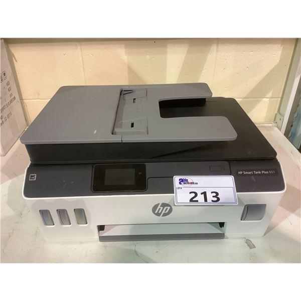 HP SMART TANK PLUS 651 PRINTER NO POWER CORD