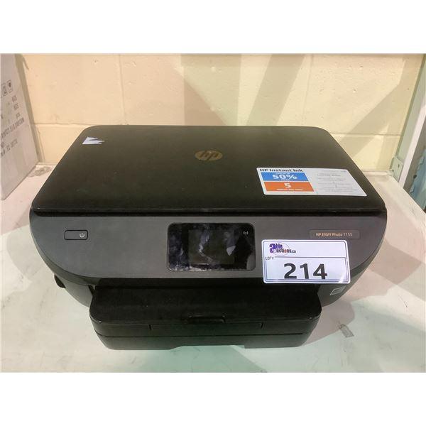 HP ENVY PHOTO 7155 PRINTER NO POWER CORD