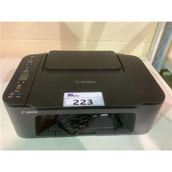 CANON PIXMA TS3429 PRINTER WITH POWER CORD