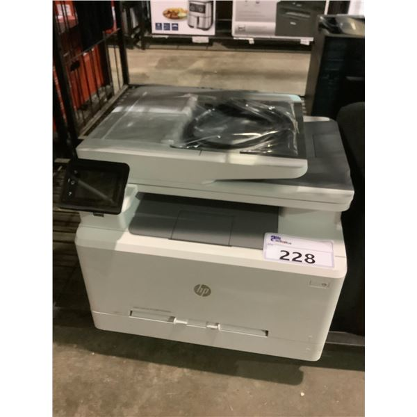 HP COLOR LASER JET PRO MFP M283FDW PRINTER WITH POWER CORD