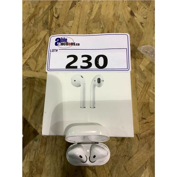 APPLE AIR PODS TESTED WORKING