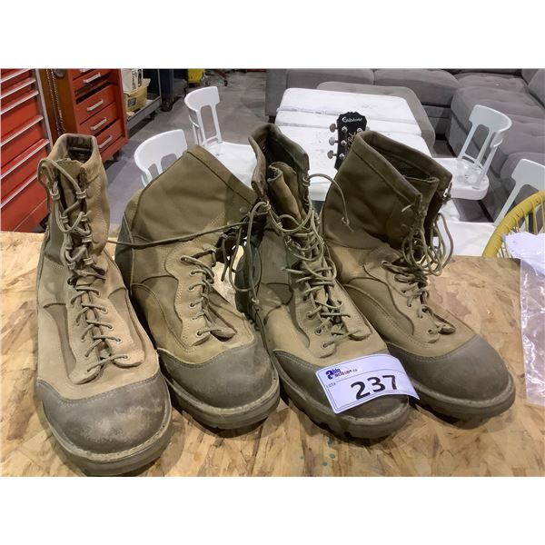 2 DANNER USMC MILITARY BOOTS SIZE 10.5