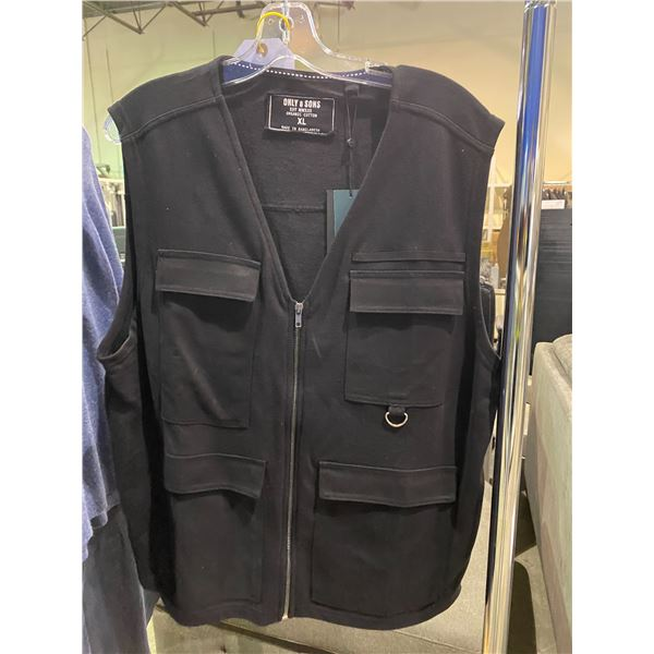 NEW ONLY SONS COTTON VEST SIZE XL