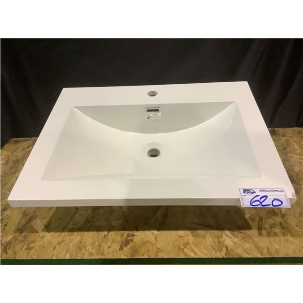"""NEW OUT OF BOX ECO CLEAN SINK APPROX. 25 5/8"""" X 19 3/4"""" VISIBLE DAMAGE"""