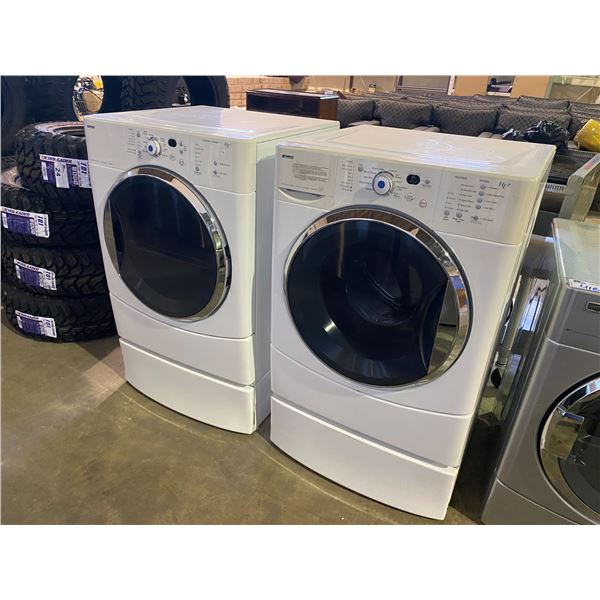 KENMORE WASHER AND DRYER SET HE 2 AND HE2T