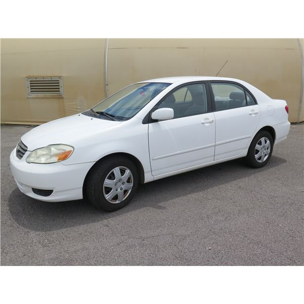 2003 Toyota Corolla, 4 Cylinder Automatic, 100823 Miles, VIN: 1NXBR32E73Z131749