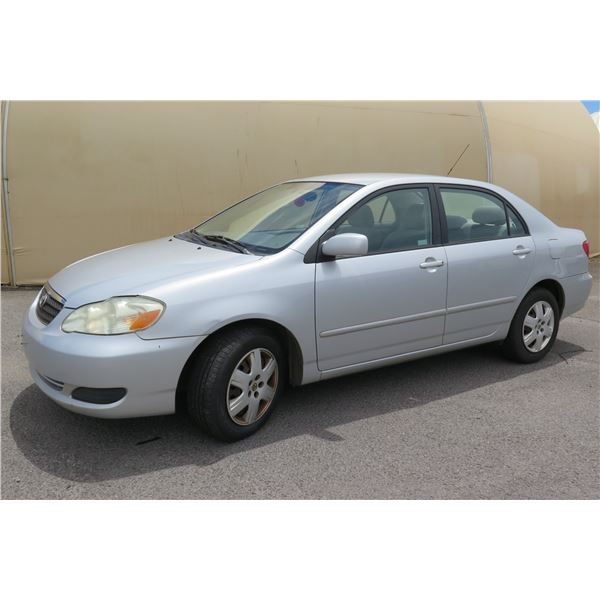 2007 Toyota Corolla, 4 Cylinder Automatic, 72433 Miles, VIN: 1NXBR32E87Z770700
