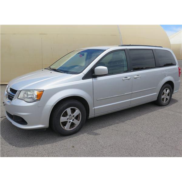 2012 Dodge Caravan Mini Van, 6-Cyl Auto, 110804 Miles, VIN: 2C4RDGCG9CR224777