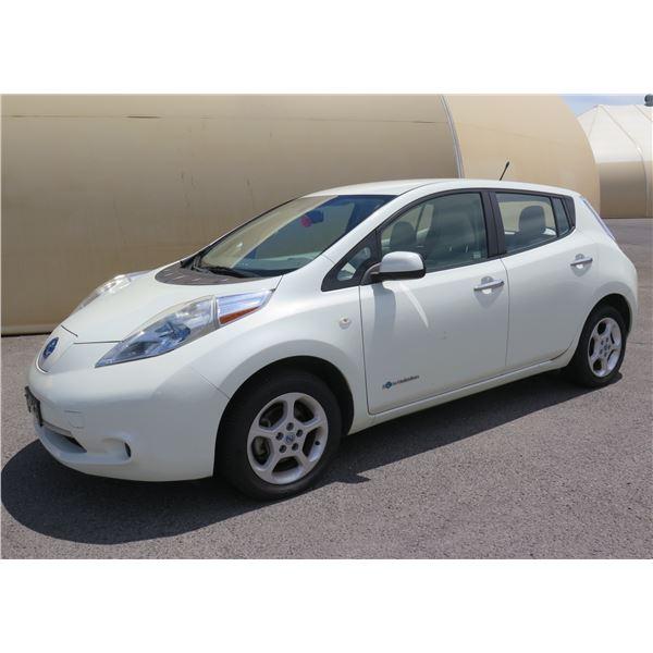2011 Nissan Leaf Electric Car, Automatic, 9060 Miles, VIN: JN1AZ0CP9BT007097