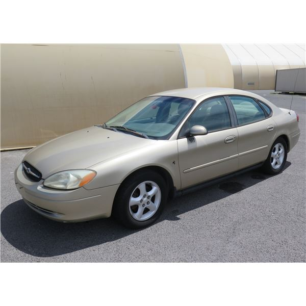 2001 Ford Taurus, 6 Cylinder Automatic, 83950 Miles, VIN: 1FAFP532X1A230873