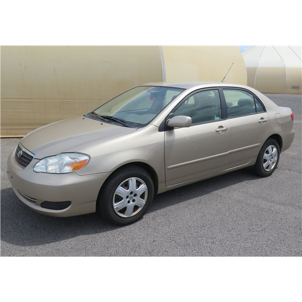 2007 Toyota Corolla, 4 Cylinder Automatic, 42742 Miles, VIN: 1NXBR32E97Z781432