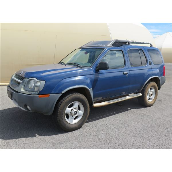 2001 Nissan Xterra 4WD SUV, 6 Cylinder Auto, 116506 Miles, VIN: 5N1ED28Y82C587612