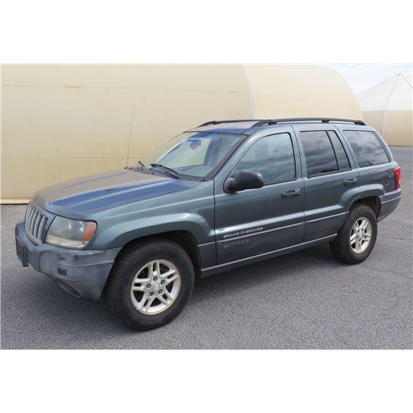 2004 Jeep Grand Cherokee 4x4 SUV, 6-Cyl Auto, 58305 Miles, VIN: 1J4GW48S24C175519