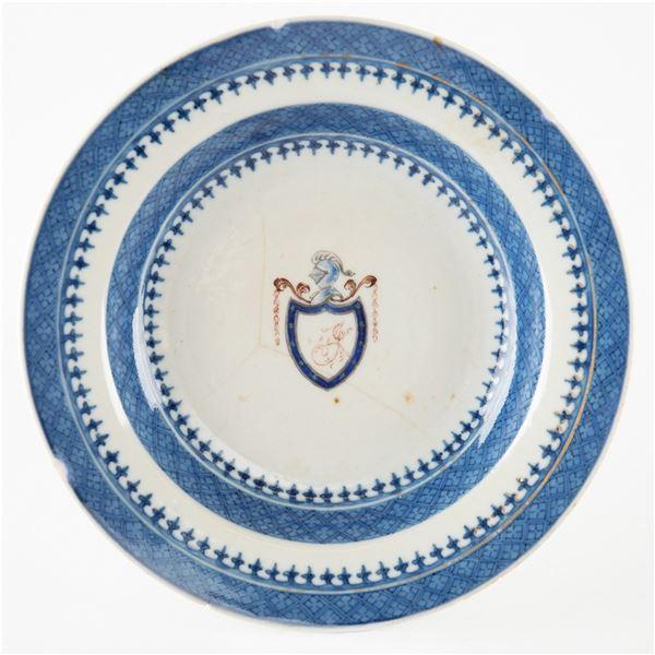 Thomas Jefferson White House China Dessert Bowl