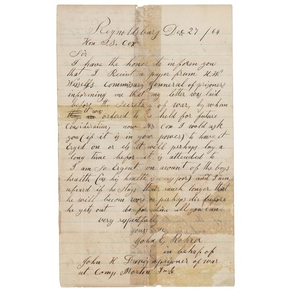 Abraham Lincoln Autograph Note Signed as President