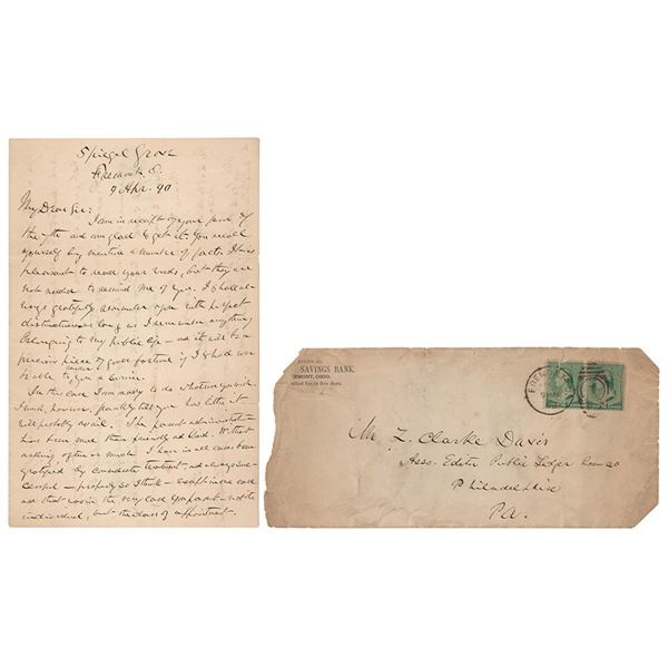 Rutherford B. Hayes Autograph Letter Signed