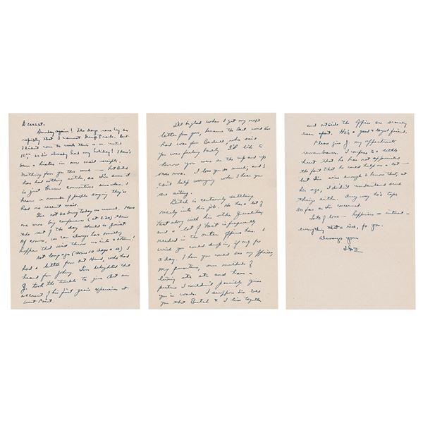 Dwight D. Eisenhower Autograph Letter Signed