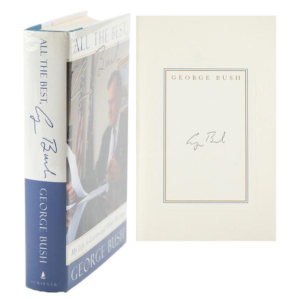 George Bush Signed Book