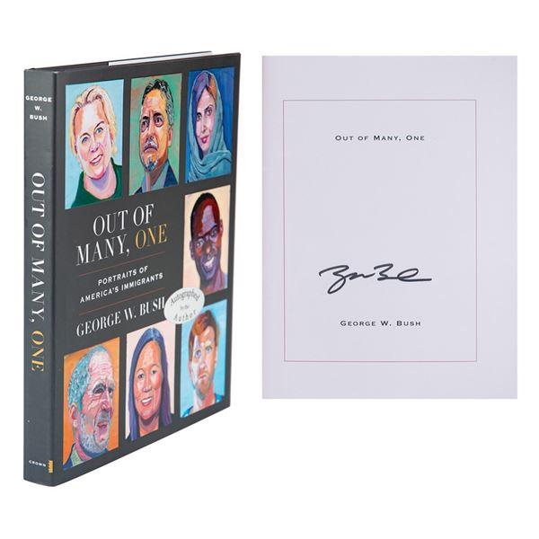 George W. Bush Signed Book