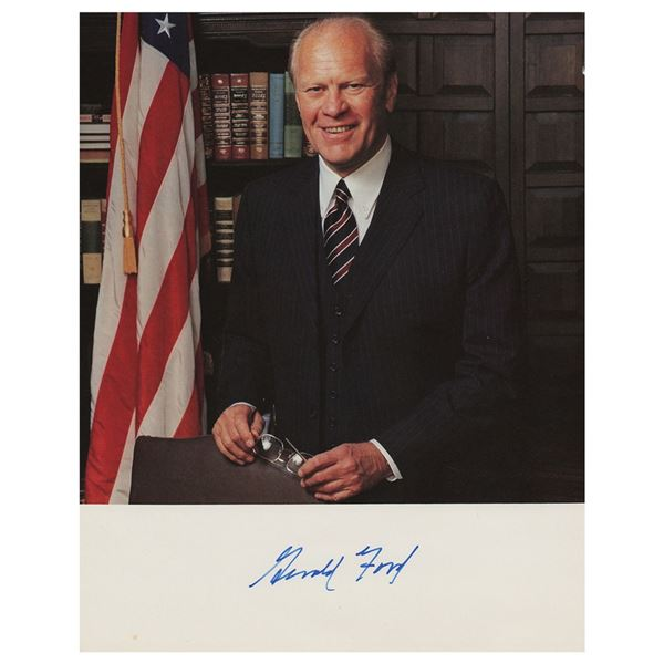 Gerald Ford Signed Photograph