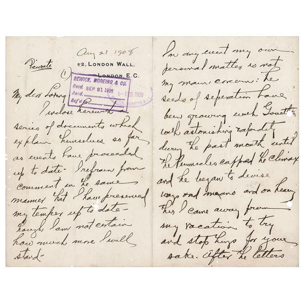 Herbert Hoover Autograph Letter Signed