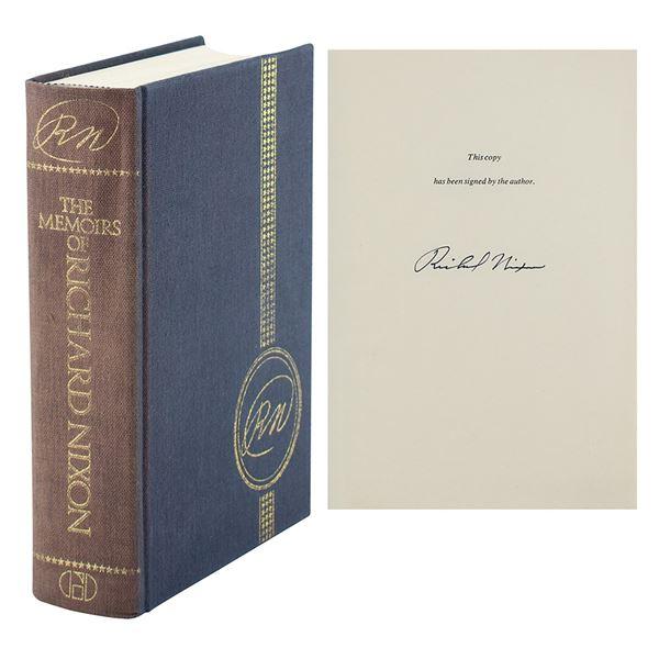 Richard Nixon Signed Book