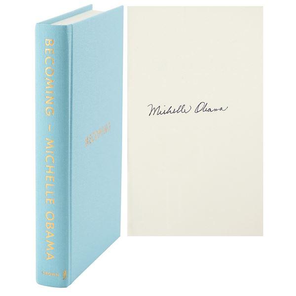 Michelle Obama Signed Book