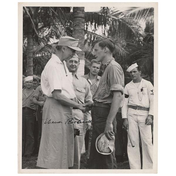 Eleanor Roosevelt Signed Photograph