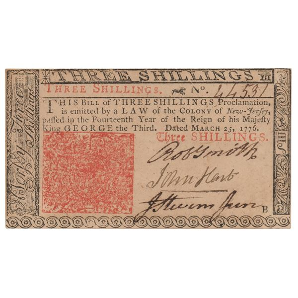 John Hart Signed Currency