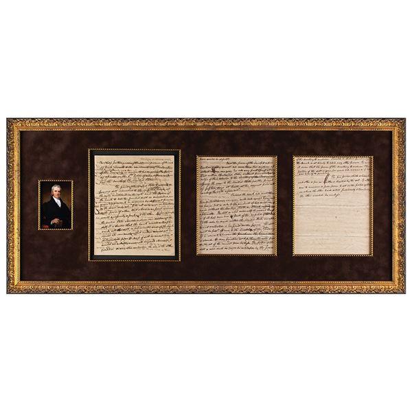 John Marshall Autograph Judicial Opinion