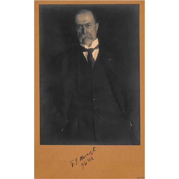 Tomas Masaryk Signed Photograph