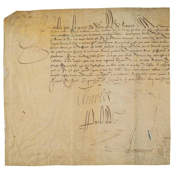 King Charles IX of France