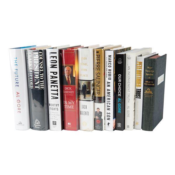American Politics (11) Signed Books