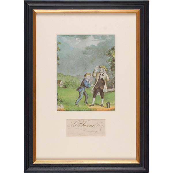 William Franklin Signature