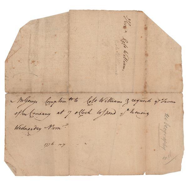 Elbridge Gerry Autograph Letter Signed