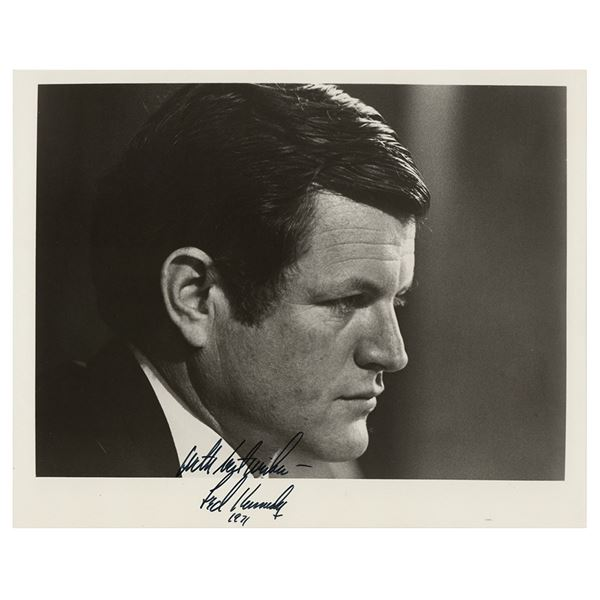 Ted Kennedy Signed Photograph
