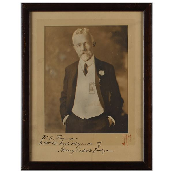 Henry Cabot Lodge Signed Photograph