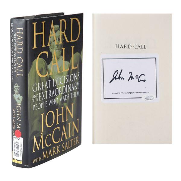 John McCain Signed Book