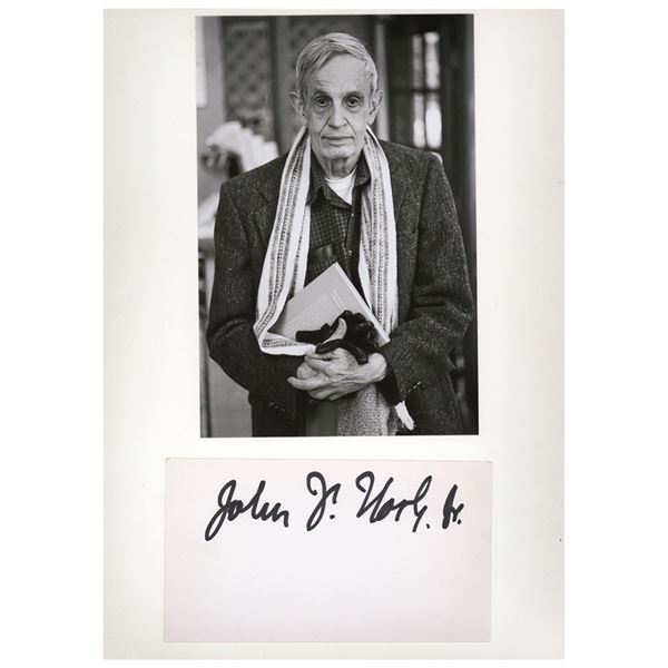 John Nash Signature