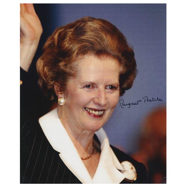 Margaret Thatcher Signed Photograph