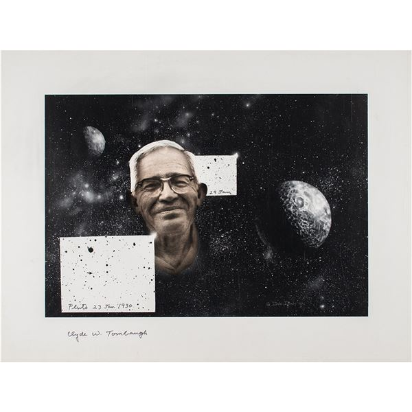 Clyde W. Tombaugh Signed Print