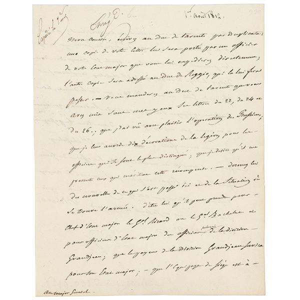 Napoleon Letter Signed